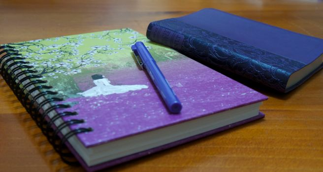 Journalling my walk with God