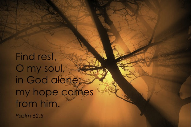 Find rest my soul