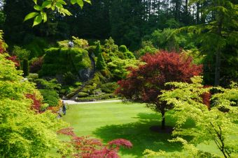 Butchart Gardens (hard to believe this was once a quarry)