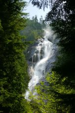 the spectacular Shannon Falls