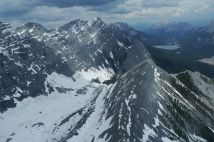 Rocky Mountains (birds-eye view)