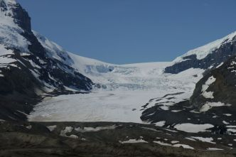 Athabasca Glacier, Icefields Parkway